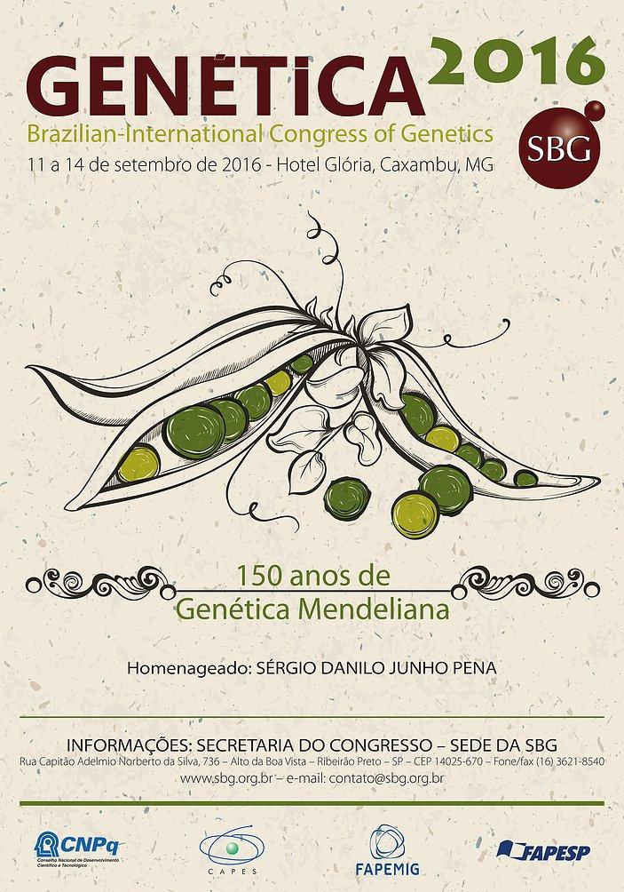 BRAZILIAN INTERNACIONAL CONGRESS OF GENETICS